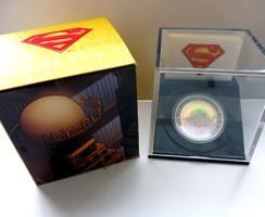 2013 Kanada 20$ Superman and Metropolis - 1 uncia tiszta ezüst érme - Proof (tükörveretes) kivitel