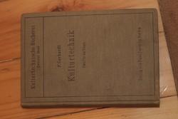 Antik idegen nyelvű műszaki könyv