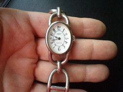 Ezüst karkötő-óra 6. ( karóra, ékszeróra, óra )