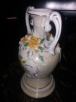 Gyönyörű talpas váza, kb.40 cm magas, hibátlan