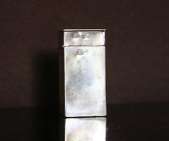 Antik bécsi ezüst gyufatartó/gyújtó,1840!