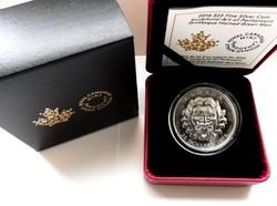 2016 Kanada 20$ Sculptural Art of Parliament III. - UHF - 1 uncia tiszta ezüst érme proof