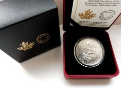 2016 Kanada 20$ Sculptural Art of Parliament I. - UHF - 1 uncia tiszta ezüst érme proof