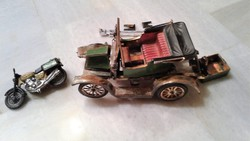 Retro lemez játék autó és motor gyűjtőknek