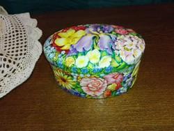 """Tavaszi, """"csupavirág"""" dobozka.... Ékszertartó."""