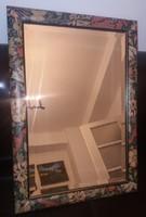 Szép keretes tükör, 39x59+keret, csiszolt üveg