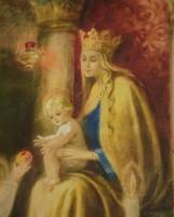 Ismeretlen (20.sz első f.) : Mária a Gyermekkel