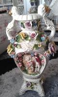 Nagy méretű porcelán váza