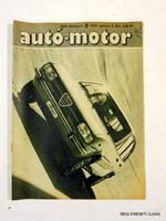1976 március 6  /  autó-motor  /  SZÜLETÉSNAPRA RÉGI EREDETI ÚJSÁG Szs.:  6480