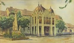 0T510 Pálföldi jelzéssel : Vidéki városháza 1945