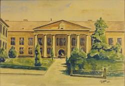 0T562 Pálföldi jelzéssel : Múzeumkert 1945