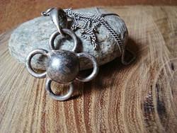 Ezüst medál  ezüst lánccal