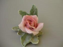 Karl Ens porcelán rózsa,HIBÁTLAN!!!