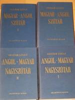 Angol-magyar,magyar -angol szótár /Országh László