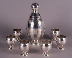 Ezüst shaker készlet