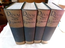 Révai nagy lexikon I.II.III.IV .