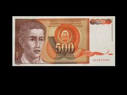 UNC - 500 DINÁR - (még) JUGOSZLÁVIA - 1991