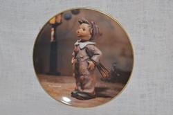 Hummel fali tányér 06  ( DBZ 0060 )