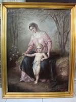 Szász Andor: Madonna a gyermekkel