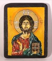 Ikon  A megváltó Jézus