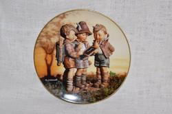 Hummel fali tányér 01  ( DBZ 0060 )