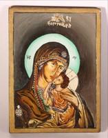Ikon, Mária a kis Jézussal festett szentkép
