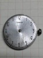 Pobeda számlap, 30 mm, óraszerkezettel