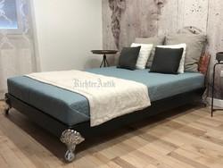 Industriál, Ipari design bútor, francia ágy.