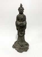 Régi, Kuan Yin bronz szobor