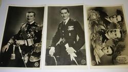 Horthy eredeti képeslapok