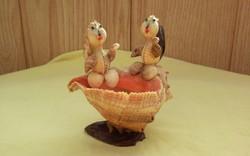 Tengericsigás dekoráció mókusokkal