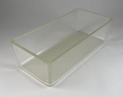 0T666 Laboratóriumi üveg tál üveg edény