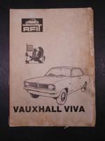 Vauxhall Viva - Szerelési kézikönyv