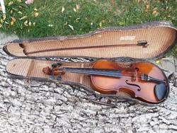 Antik hegedű Elek Béla 1900