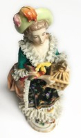 Carl Thieme (Potschappel) porcelán szobrocska