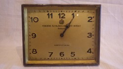 Fonciére Általános Biztosító Intézet Budapest régi réz óra