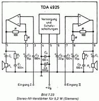 TDA4925 2x5.2W AF Power Amplifier SIEMENS VINTAGE IC ! 1982 -ÚJ -OLCSÓ POSTA! -igazi régiség