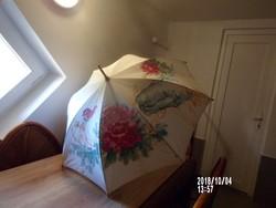 Női esernyő -kézzel festett