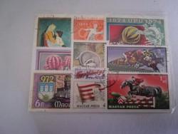 Bélyeg csomag Posta AUKCIÓS anyag