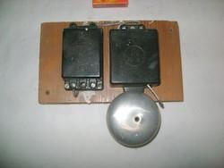 Retro elektromos csengő