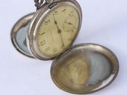Tavannes ezüst antik zsebóra ... 9af7c9529d