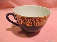 Lomonoszov porcelán kobaltkék csésze 22 k A022
