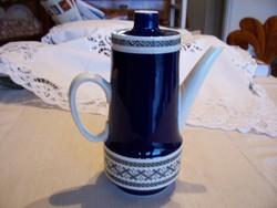 Villeroy&Boch Mettlach Saphir fajansz teás/kávéskanna, hibátlan