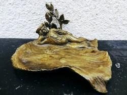 Antik Bronz Juhász Szobor