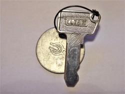 Máv kulcs, Máv logós kulcs, Máv Elzett kulcs 4858 sorszám