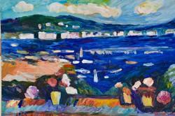 Schéner Mihály (1923-2009): Mediterrán part