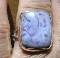 925 ezüst gyűrű, 20,5/64,4 mm, tiffany drágakővel