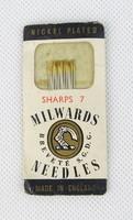 0T705 Antik angol Milwards varrótű csomag