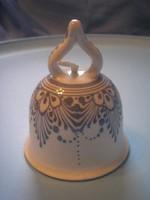 U7 Porcelán díszes  festett antik Csengő