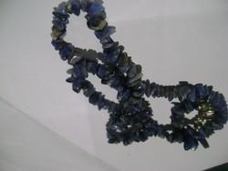 Antik eredeti ametiszt női nyaklánc gyönyörű darab 59 ct